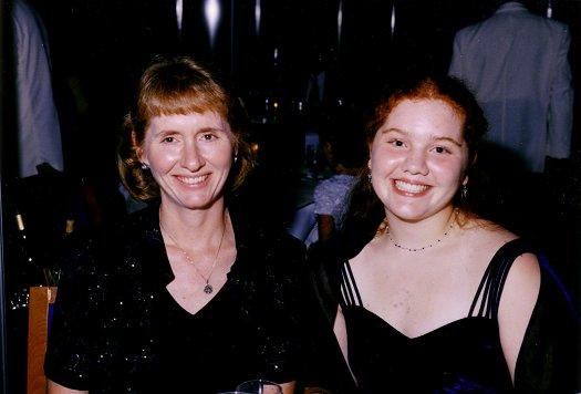 Linda and Cathy