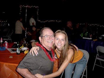 Pop Pop and Christina
