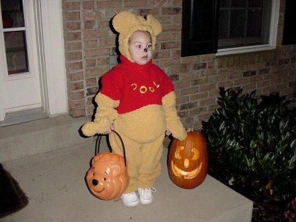 Julianna at Halloween