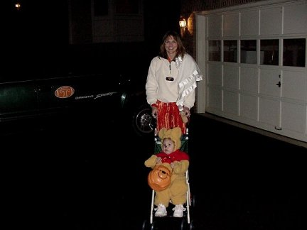 Julianna and Paula Halloween